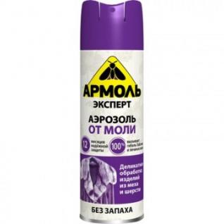 Средства от насекомых Армоль Эксперт аэрозоль от моли 190 см3