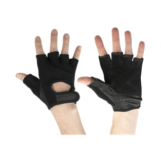 Перчатки для фитнеса Starfit Su-114, черные размер L