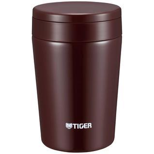 Термоконтейнер для первых или вторых блюд Tiger MCL-A038 Chocolate Brown, 0.38 л (+ Поливные капельницы в подарок!)