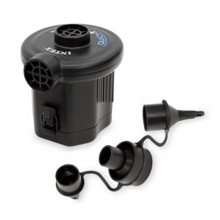 Электрический насос Quick-Fill (на батарейках) Intex
