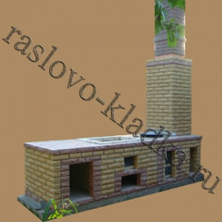 БАРБЕКЮ ИЗ КИРПИЧА 005