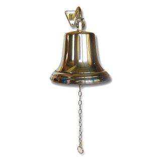 Сувенирная рында, корабельный колокол, d 18 см, цвет золото