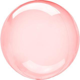 Falali Шар Сфера 3D, Deco Bubble, Красный, Кристалл