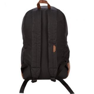 Рюкзак молодежный №1 School черный, кож.зам.
