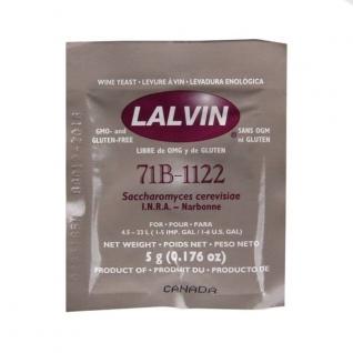 Дрожжи Lalvin 71B-1122 (Легкий тропический) 5 грамм