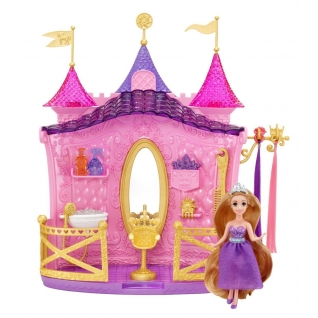"""Набор """"Салон красоты Рапунцель"""" с мини-куклой Mattel"""