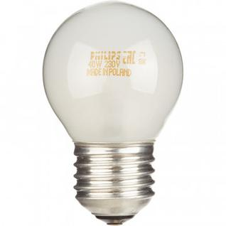 Электрическая лампа Philips шарик/матовая 40W E27 FR/P45 (10/100)