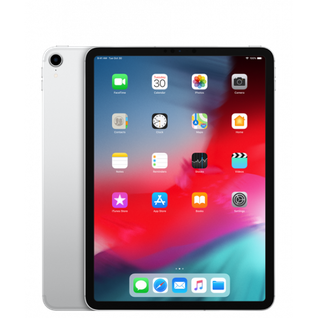 Планшет Apple iPad Pro 11 (2018) 256Gb Wi-Fi+Cellular Silver MU1D2