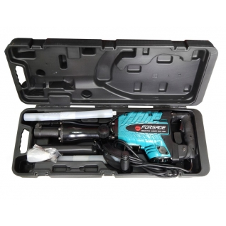 Отбойный молоток ручной электрический в кейсе (220В, 1600Вт, 1400 уд/мин, патрон Hex) Forsage electro