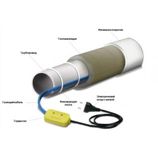 Пищевой саморегулирующийся кабель 15SeDS2-CF