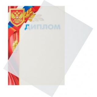 Обложки для переплета пластиковые Promega office белые,А4,280мкм,100шт/уп.