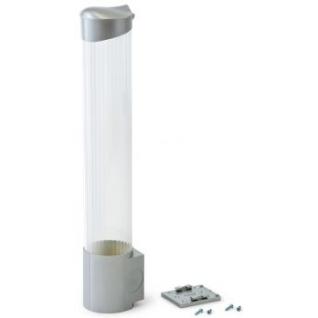 Стаканодержатель VATTEN CD-V70SS 100ст,серебро,саморезы