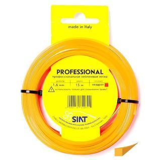 Леска для триммера 1.6 мм Квадрат (15 м) Professional SIAT (Италия) [556002]