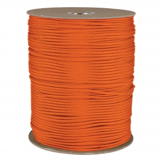 Made in Germany Паракорд, цвет оранжевый, рулон 300 м