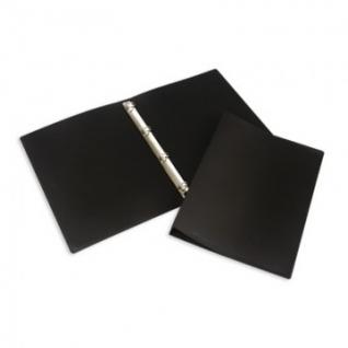 Папка на 4-х кольцах пласт. 25/32мм А4 ATTACHE F504/045 черная