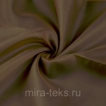 Подкладочная ткань 373 190Т 100%п/э, шир. 150 см, цвет: умбра