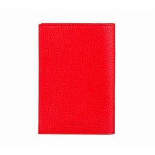 Обложка для паспорта О.1.ВК.красный