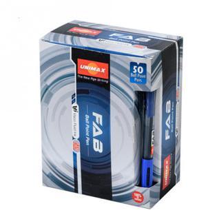 Ручка шариковая Unimax Fab GP 0,7мм, син, масл, автом