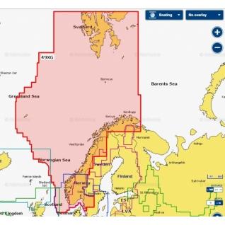 Карта Navionics+ Норвегия (49XG)