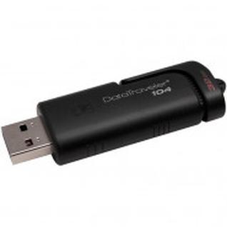 Флеш-память Kingston DataTraveler 104, 32Gb, USB 2.0, черный, DT104/32GB