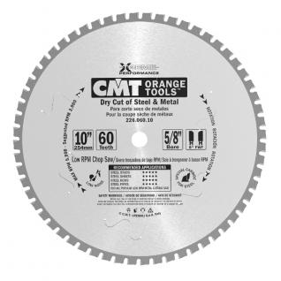 Пильный диск для сухого реза стали CMT 226.060.10M