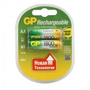 Аккумулятор GP 1800mAh АА/LR6 NiMh бл/2шт