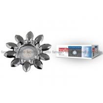 Fametto DLS-P112 GU5.3 CHROME/SMOKE+CLEAR