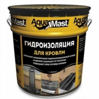 Мастика битумно-резиновая Aквамаст Кровля /18,0 кг/