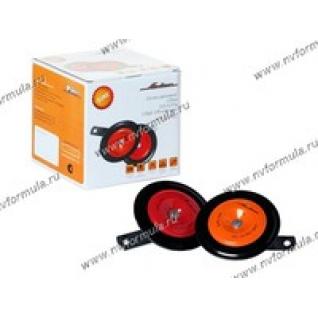 Сигнал универсальный AIRLINE 110мм 315/415Гц 118дБ 12В дисковый комплект