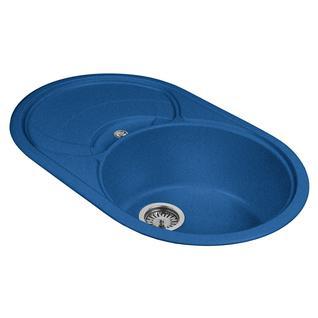 Мойка кухонная AquaGranitEx M-18S (323) синий