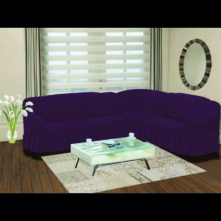 Чехол для углового дивана ПМ: KARNA Чехол на диван угловой Стамбул