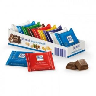 Шоколад Ritter мини-микс яркая коллекция, (7вкусов) 9шт/уп