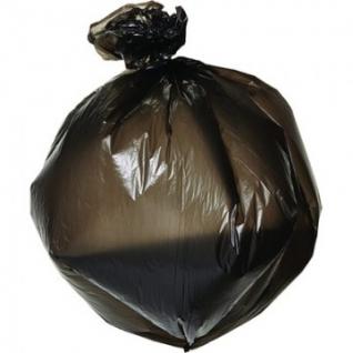 Мешки для мусора ПНД 60л 58х68см 10мкм черные 30шт/рул Комус