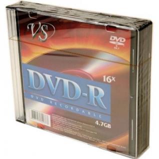 Носители информации VS DVD-R 4,7GB 16x SL/5