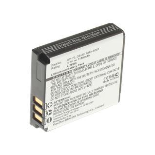 Аккумуляторная батарея CGA-S005A для фотокамеры Sigma. Артикул iB-F148 iBatt