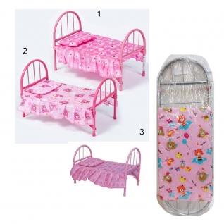 Кровать для кукол с матрасом и подушкой, 46 см Shantou
