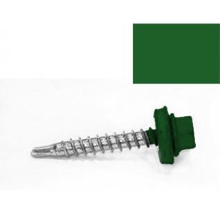 Саморез кровельный 4,8х35мм RAL6002 (зеленая листва) (350шт.) STARFIX (SM-86288-350) STARFIX
