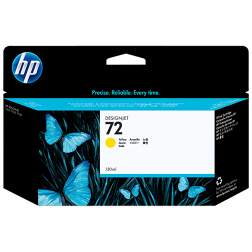 Картридж HP C9373A (№72) для HP Designjet T1100ps, оригинальный (жёлтый) 7480-01 Hewlett-Packard 851204