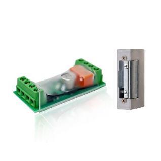 Комплект из реле и личинки для управления электромеханическим замком POP_700007 Z-WAVE.ME