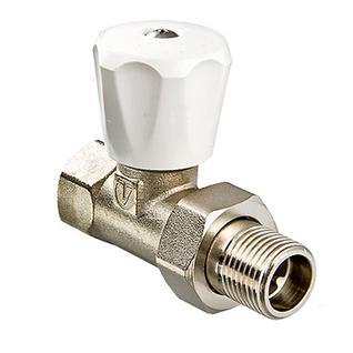 """Клапан ручной прямой 1/2""""(компактный) VT.008.LN.04 VALTEC"""