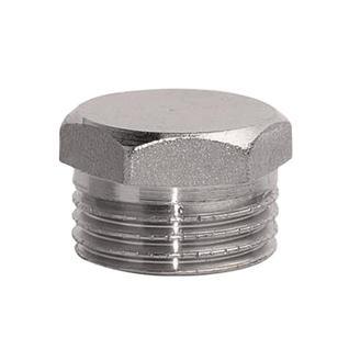Заглушка никель (пробка) Ду 40 НР Remsan