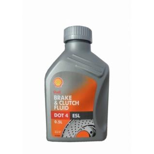 Тормозная жидкость Shell Brake&Clutch fluid DOT 4 / DONAX YB 0.5л