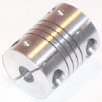 Муфта аллюминиевая ф 5x8мм