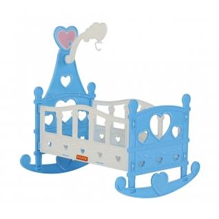 Кроватка-качалка сборная для кукол №3 (8 элементов) (в пакете) Полесье