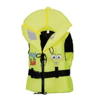 Marinepool Спасательный детский жилет Marinepool Sponge Bob ISO 100N желтый 20 - 30 кг