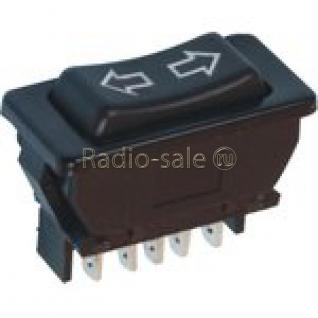 Переключатель стеклоподъемника 12v,20A,3положения,5pin,ASW-01