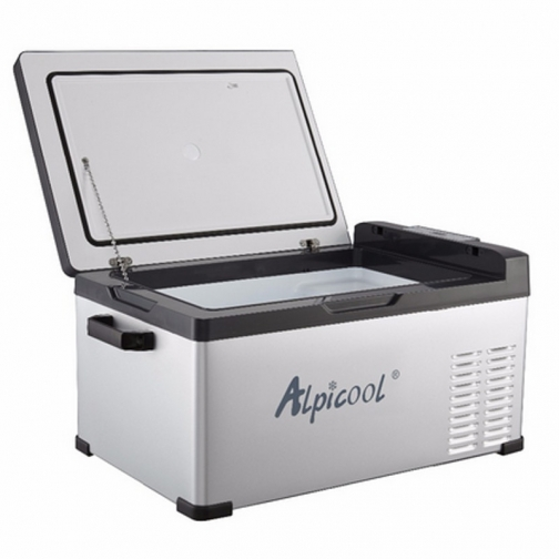 Kомпрессорный автохолодильник ALPICOOL ACS-25 черный (30л, 12/24/220В) 36971683 1