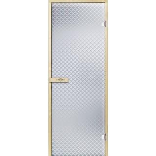 Дверь для бани РЕТРО 7х19, прозрачное матовое