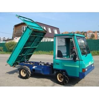 Японский самосвал для бездорожья 4WD Kubota Canycom ELL801