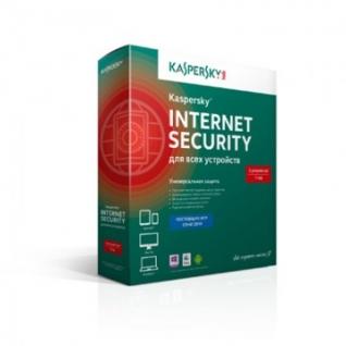 Антивирус Kaspersky Internet Security 3ПК-1г/Box